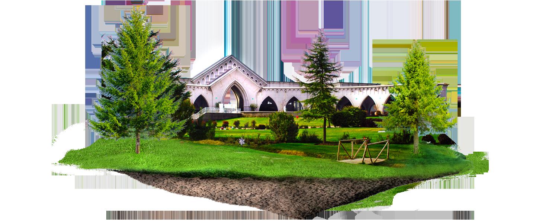Fondo de parque cementerio Canaan