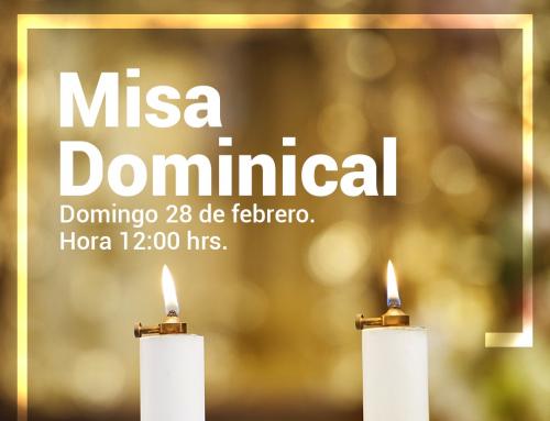 Invitación Misa Dominical