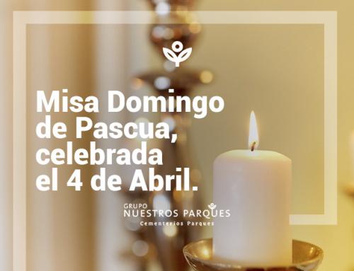 Misa de Pascua, celebrada el 4 de Abril