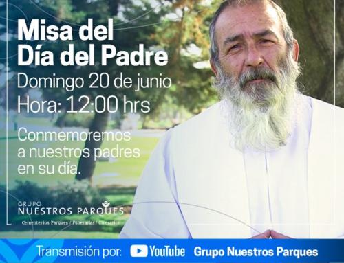 Invitación Misa Día del Padre