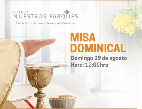 Misa en homenaje a los fallecidos en Agosto
